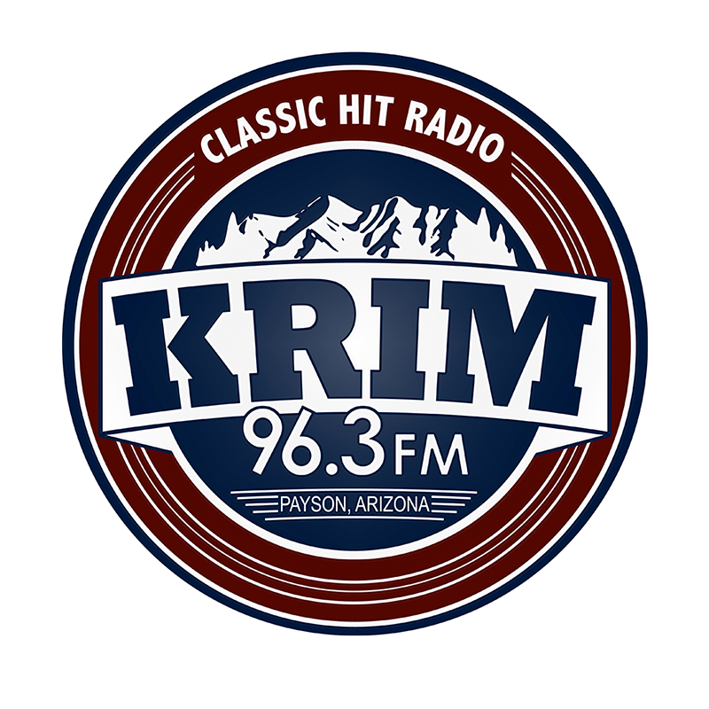 KRIM FM radio station logo